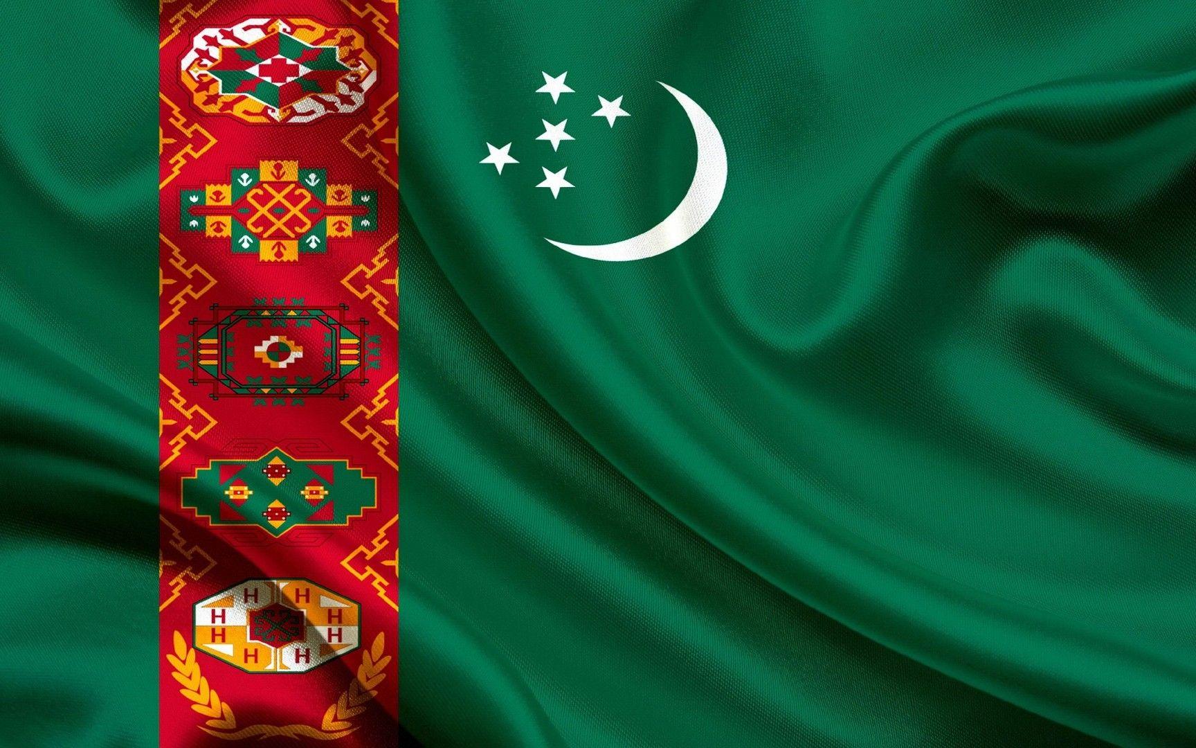 Flag of Turkmenistan wallpaper Education Flag Wallpaper Hd 1728x1080