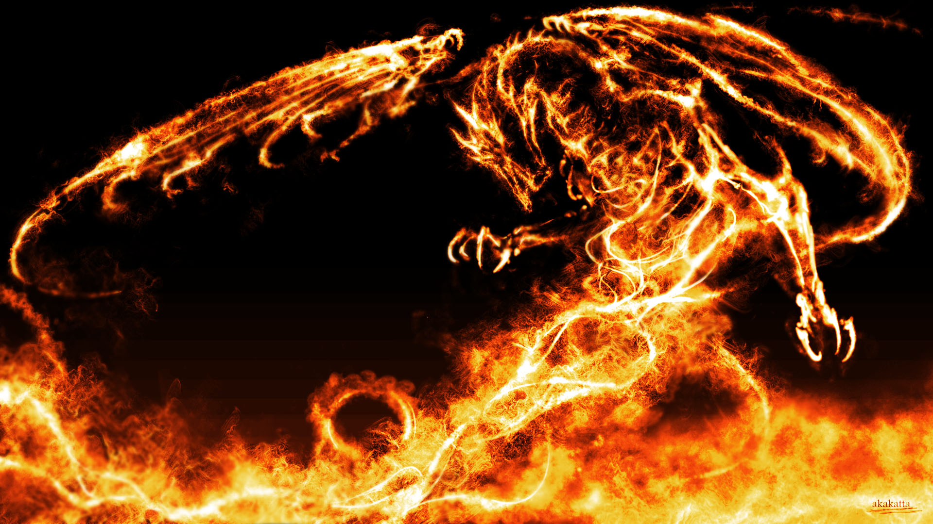 50 3d Flames Wallpaper On Wallpapersafari
