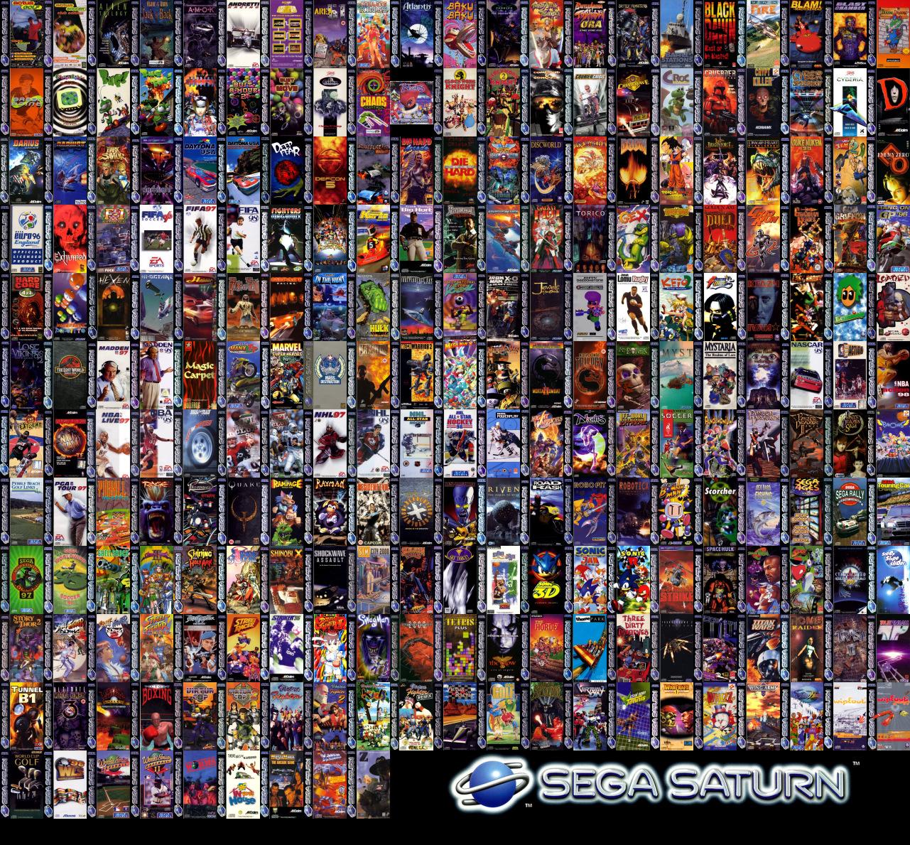 Saturn Car Logo Sega Saturn Wall...