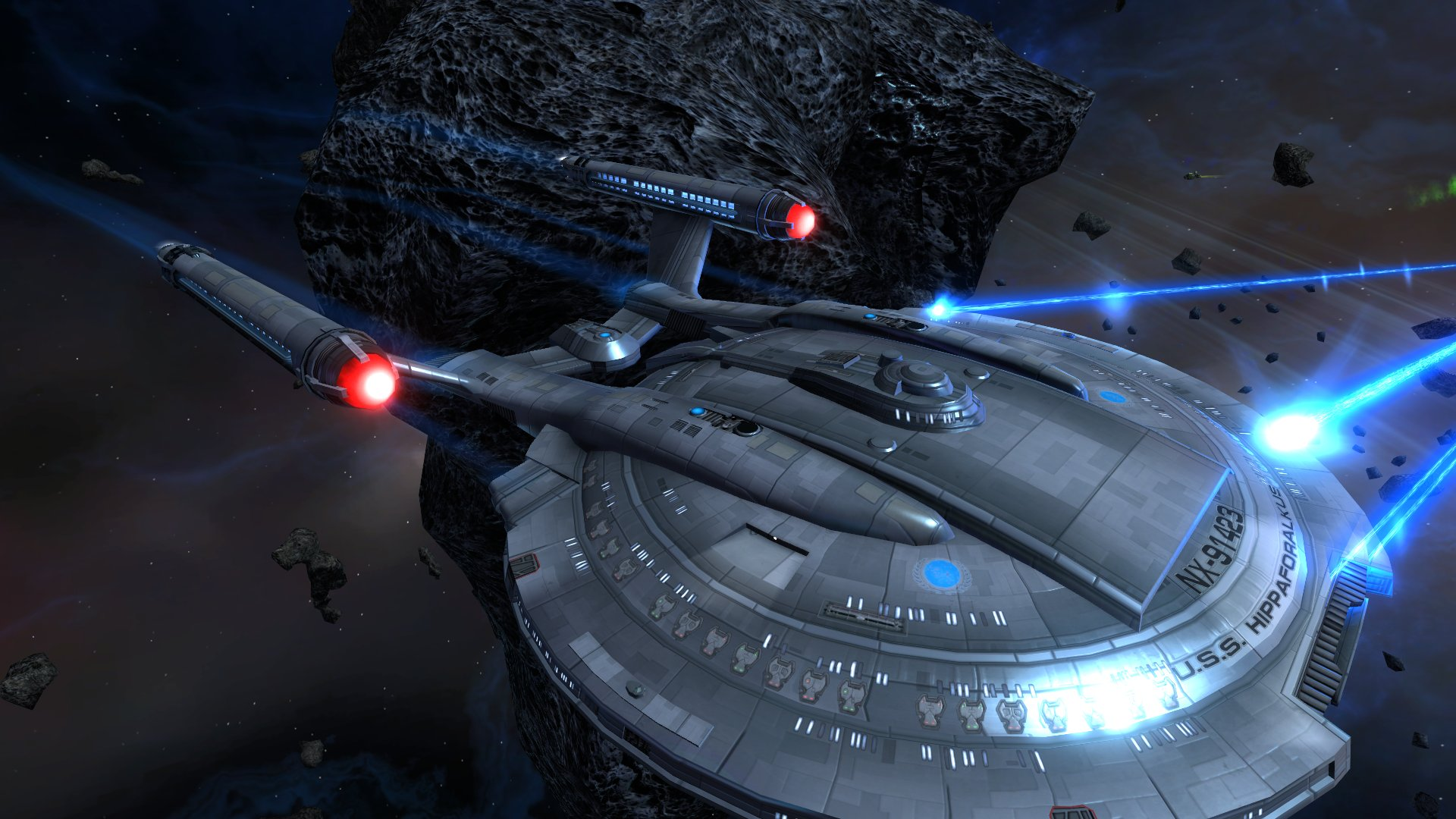 STAR TREK ONLINE game sci fi spaceship wallpaper 1920x1080
