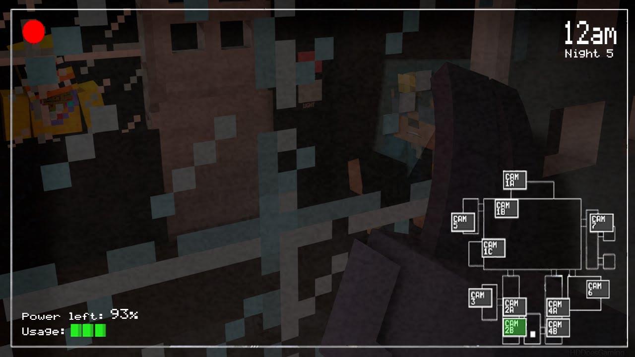Free download FNAF Minecraft Render [1280x720] for your