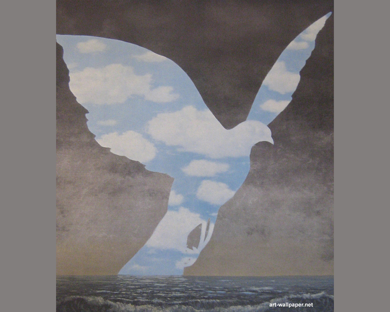 Rene Magritte Wallpaper Paintings Art Wallpapers 1280x1024