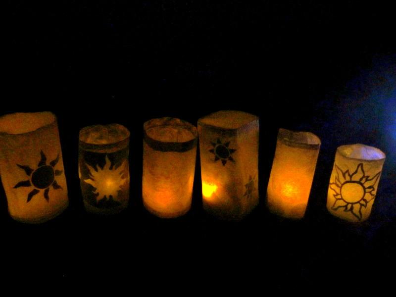 Tangled Wallpaper Lanterns Download