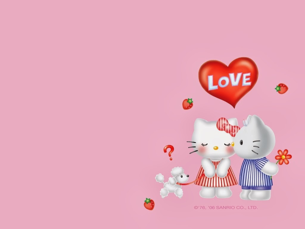 Cute Hello Kitty wallpapers   Beautiful wallpapers 1024x768