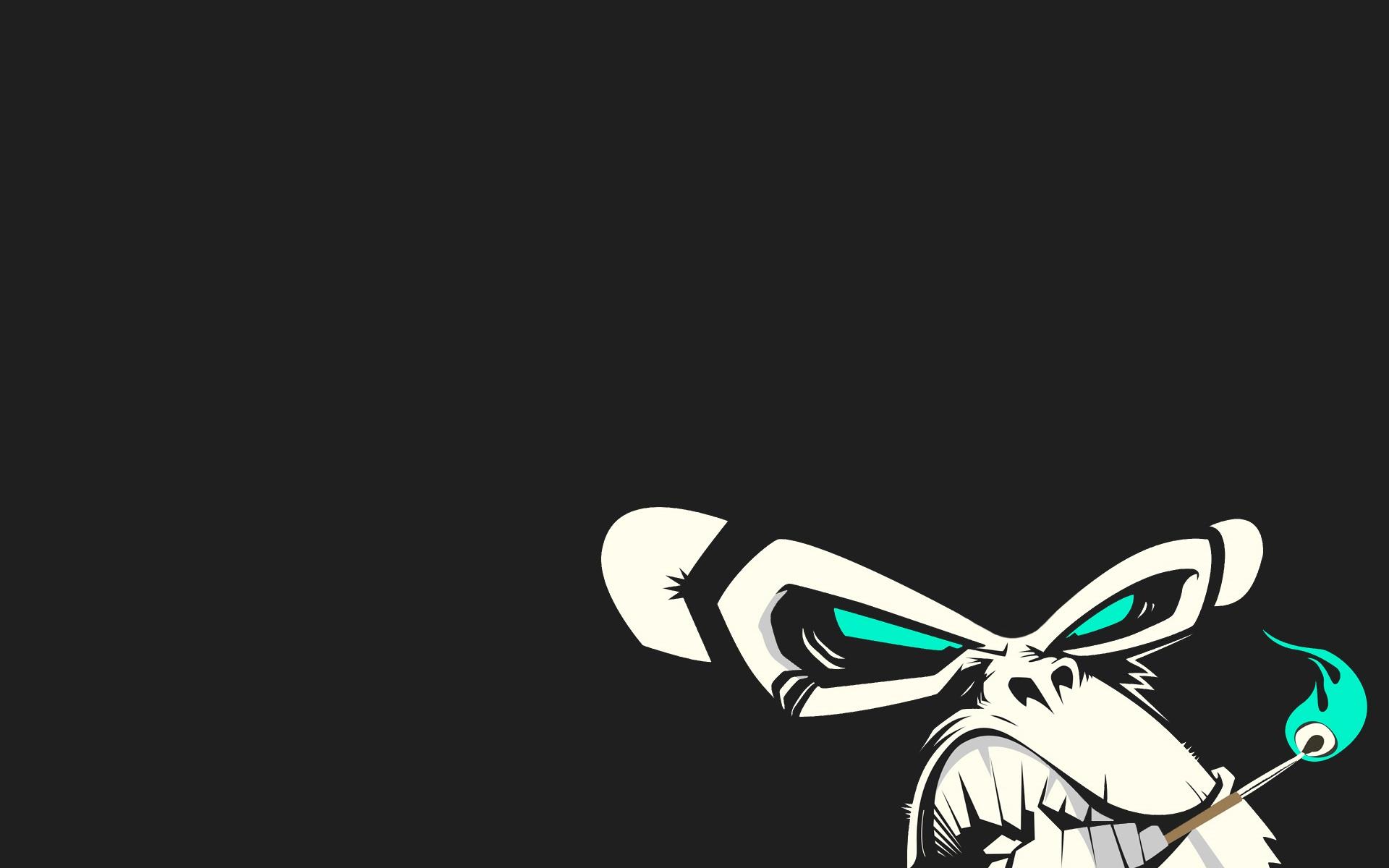 Evil Monkey   Cool Desktop Background 1920x1200