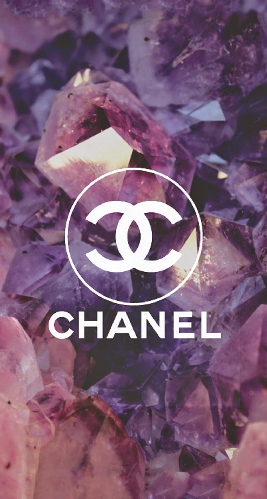 Coco Chanel Logo Diamonds iPhone 6 Plus HD Wallpaper iPod Wallpaper 1028x1920