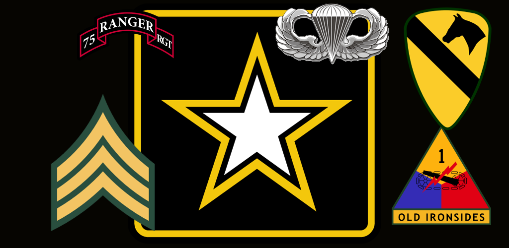 Us Army Logo Wallpaper Us army wallpaper for android 1024x500