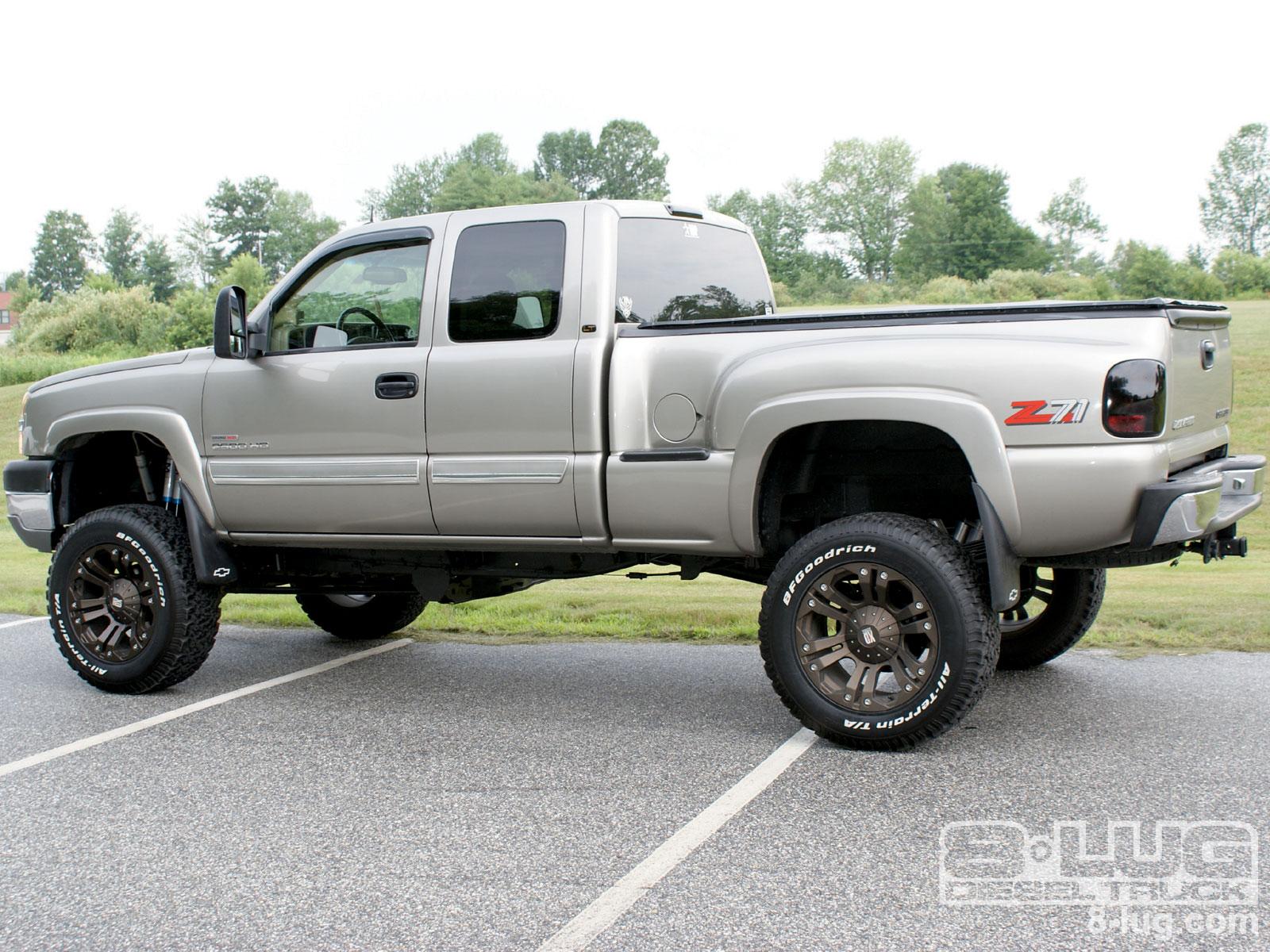 Lifted Chevy Truck Wallpaper 2004 chevrolet silverado 1600x1200