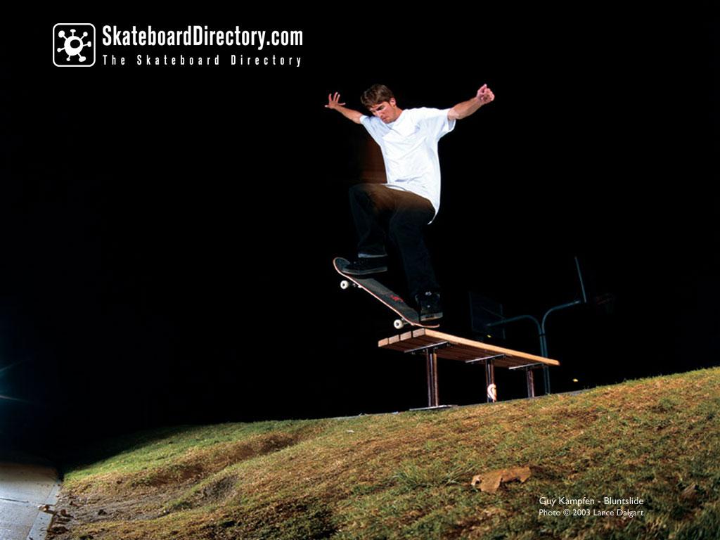Georgette Fingir skateboarding wallpaper 1024x768