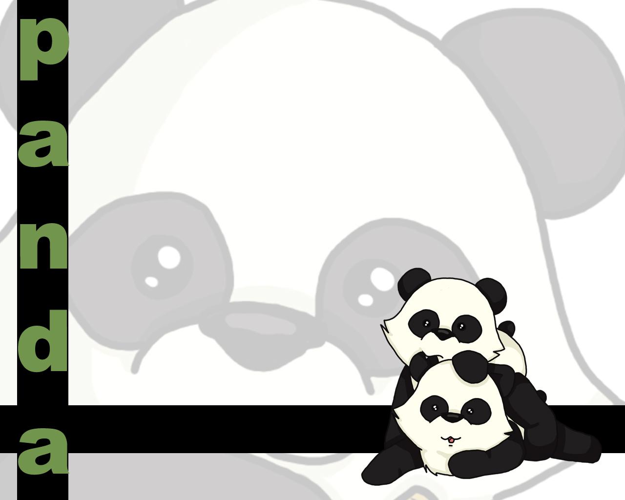 8589130467667 cute cartoon panda wallpaper hdjpg 1280x1024