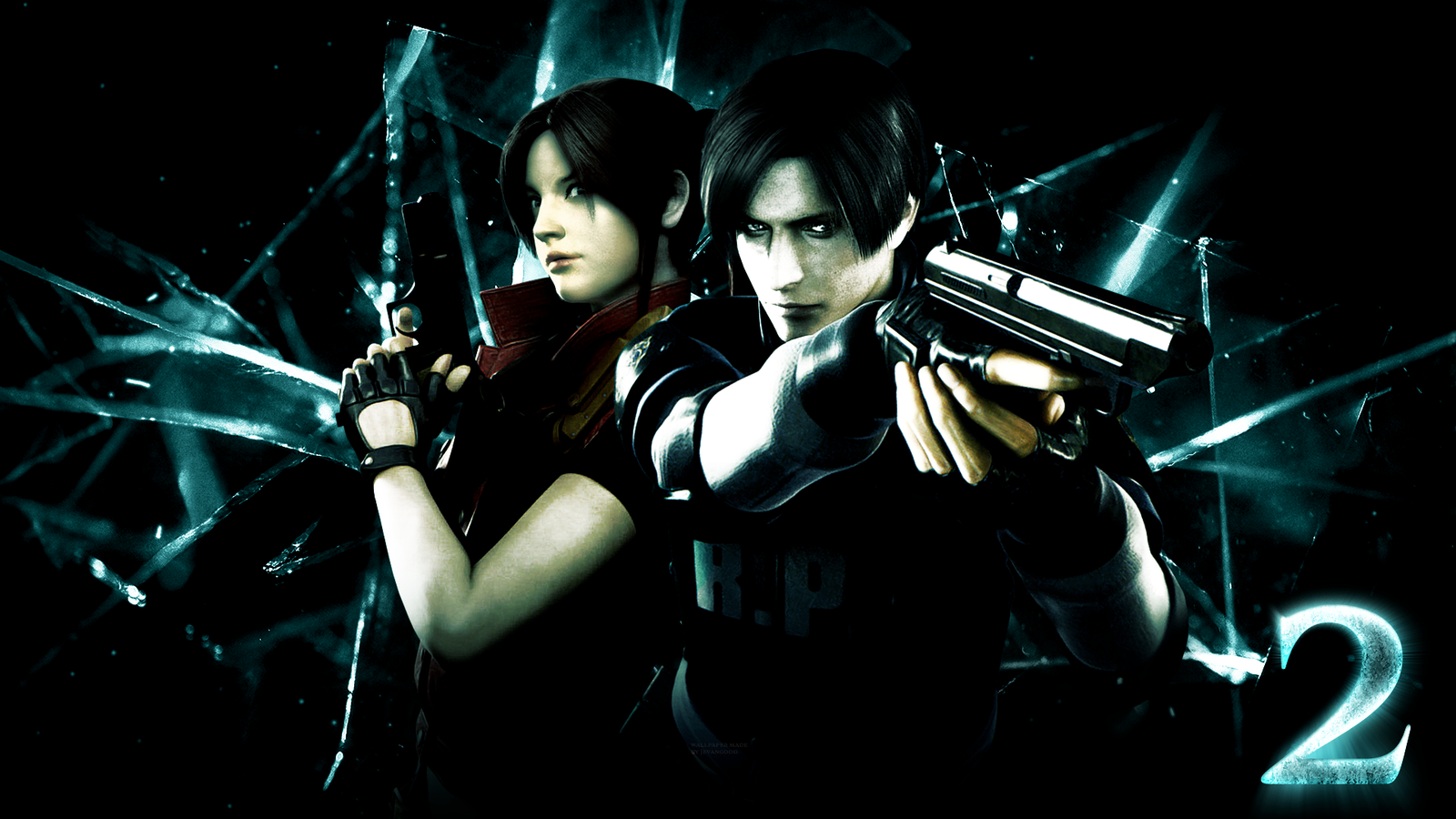 Free Download Resident Evil 2 Wallpaper By Jevangood 1600x900