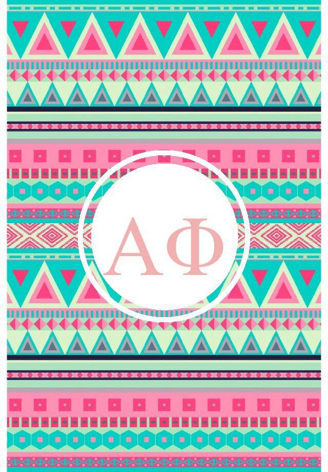 Alpha Phi tribal iPhone monogram backgroundIphone Backgrounds Alpha 640x920