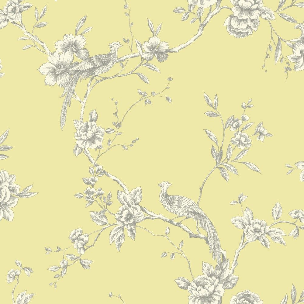 Chinoise Yellow WallpaperOldrids Downtown 1000x1000