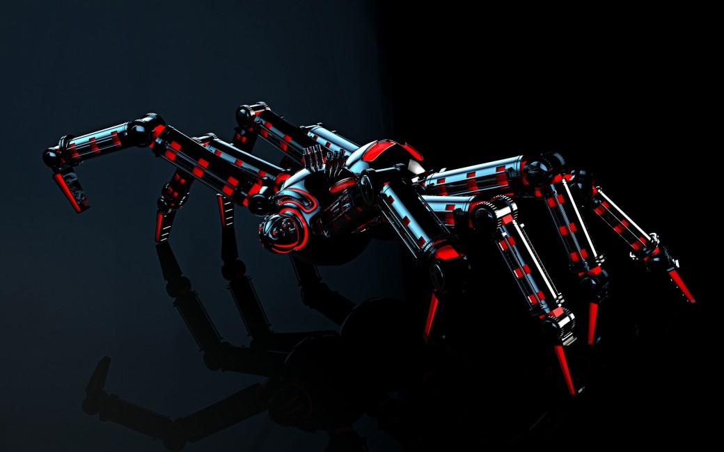 Mechanism Reflection Spider Robot Light   Stock Photos 1040x650