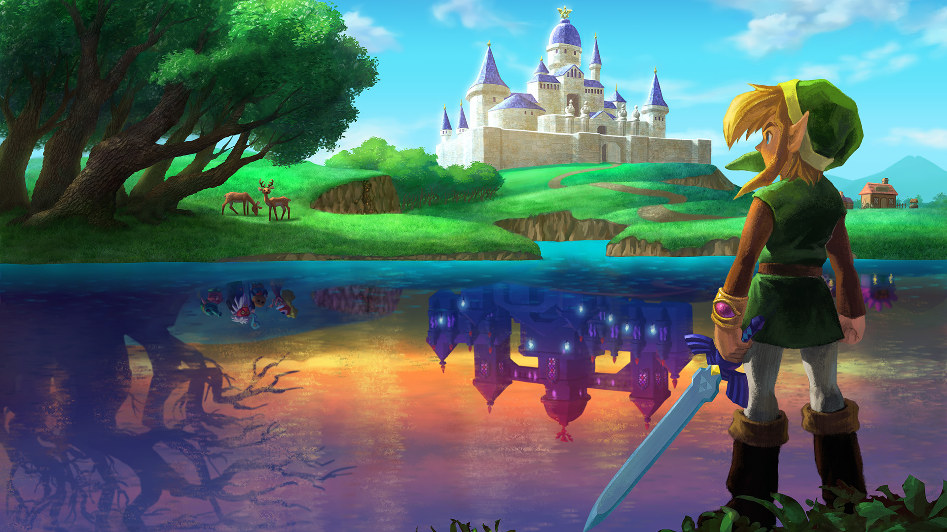 comzeldathe legend of zelda a link between worlds hd wallpaperjpg 1920x1080