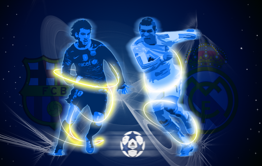 Messi VS CRonaldo Wallpaper by jeanpaul007 900x570