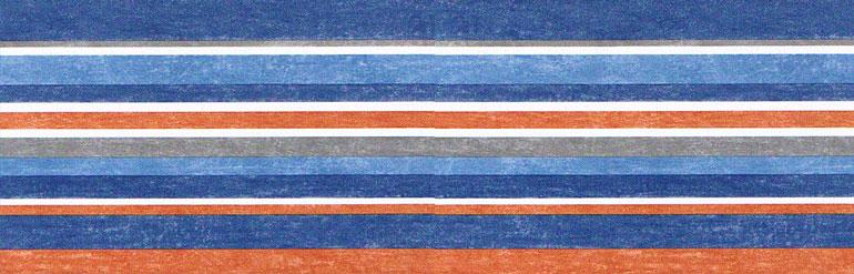 Solid Blue Wallpaper Border Item specifics 770x247