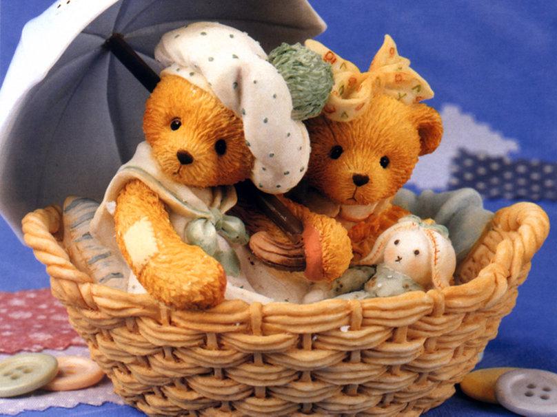 Cute Teddy Bears Wallpapers - WallpaperSafari