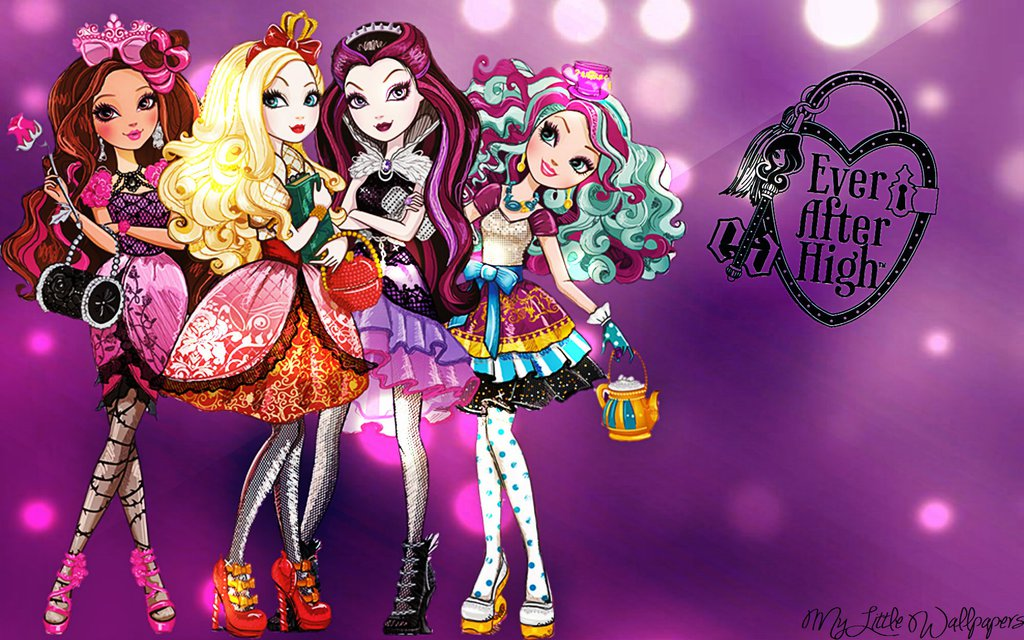 Ever After High Wallpaper by XxStrawberry RosexX 1024x640