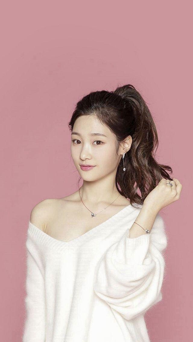 Pink Ioi Chaeyeon Cute Kpop Asian iPhone 5s wallpaper iPhone 640x1136