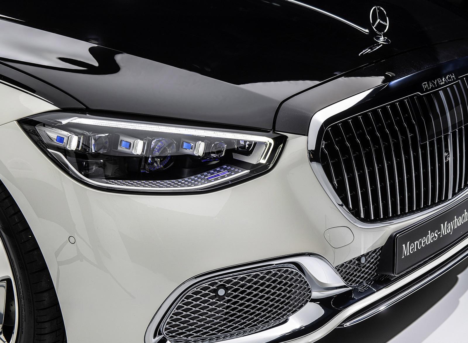2021 Mercedes Maybach S Class Color Designo Diamond White Bright 1600x1174