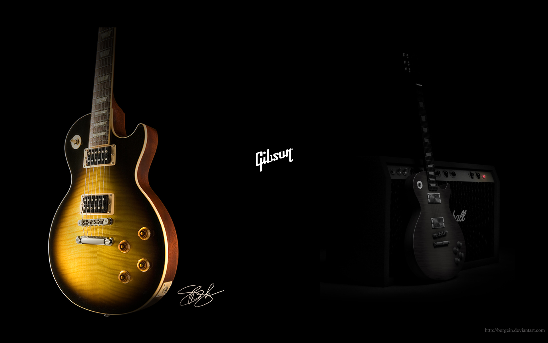 slash guitar wallpaper wallpapersafari