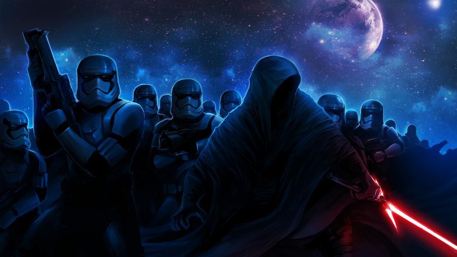 Free Download Darth Vader Stormtroopers Star Wars 4k