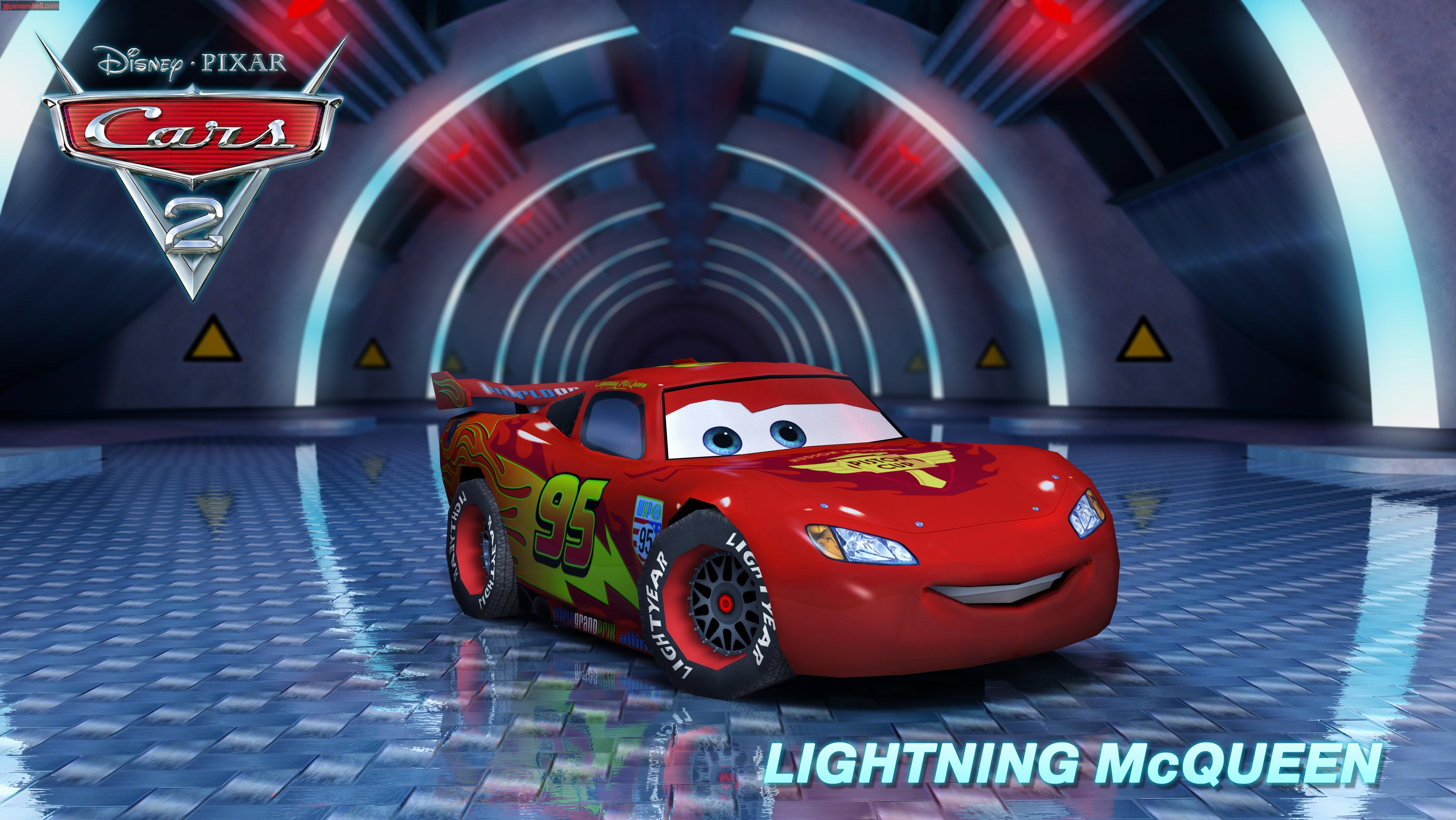 Pics Photos   Lightning Mcqueen Cars Movie Iphone 5000x2815