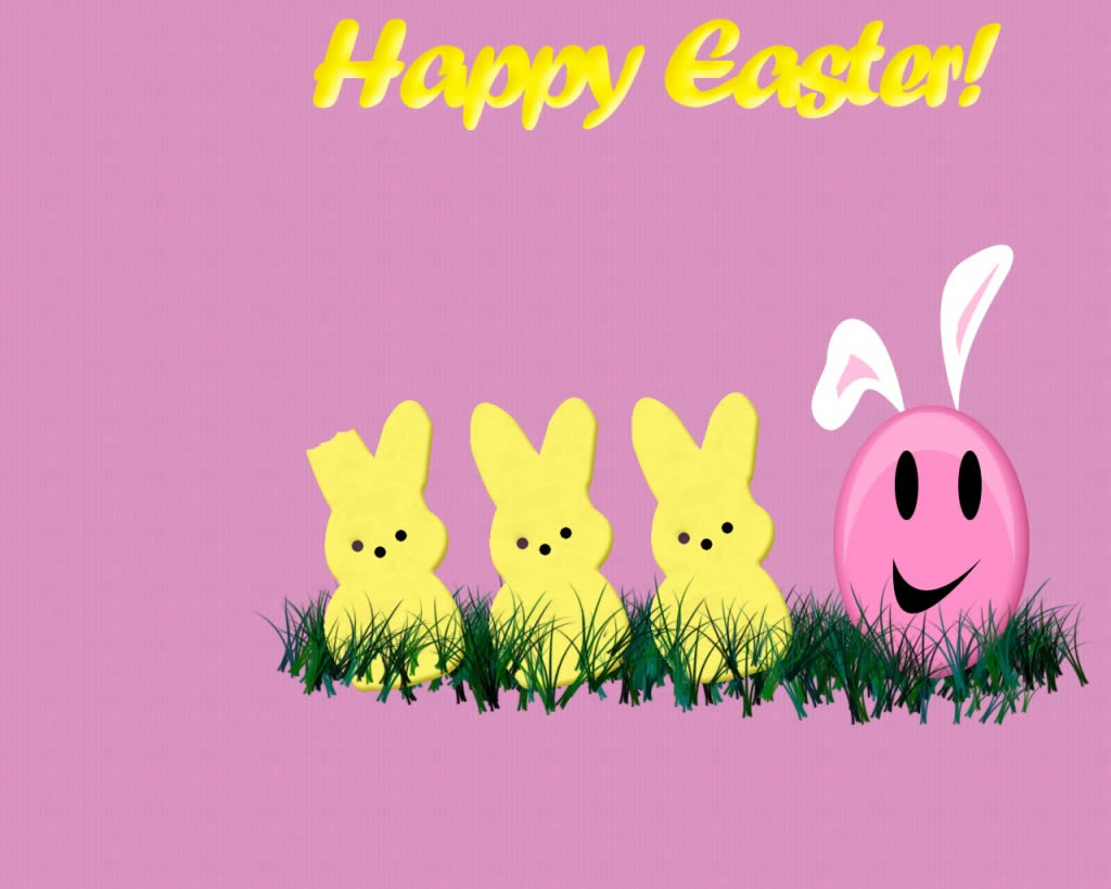 wallpapers ready to download easter on your desktop with eggs and cute 1024x819