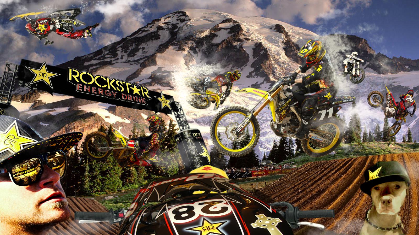 ROCKSTAR ENERGY MOTOCROSS by K4RLSWEDE 1600x900