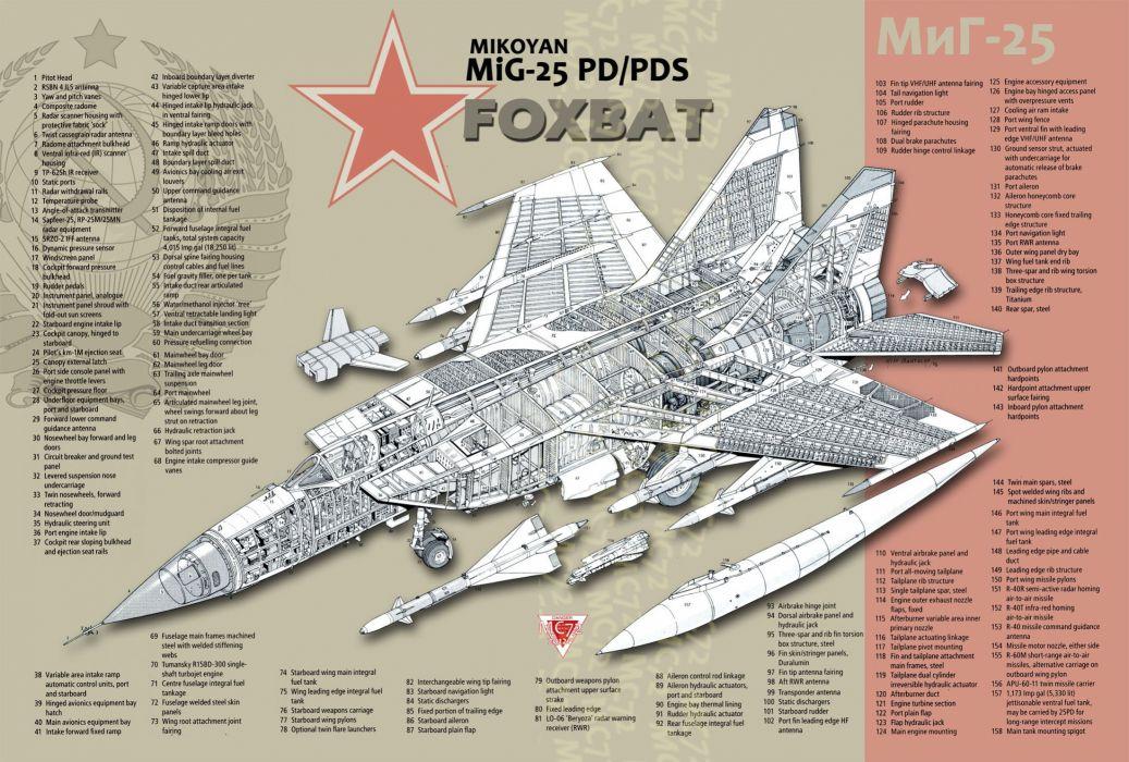 Mig 25 russian russia military fighter jet wallpaper 2200x1486 1037x700