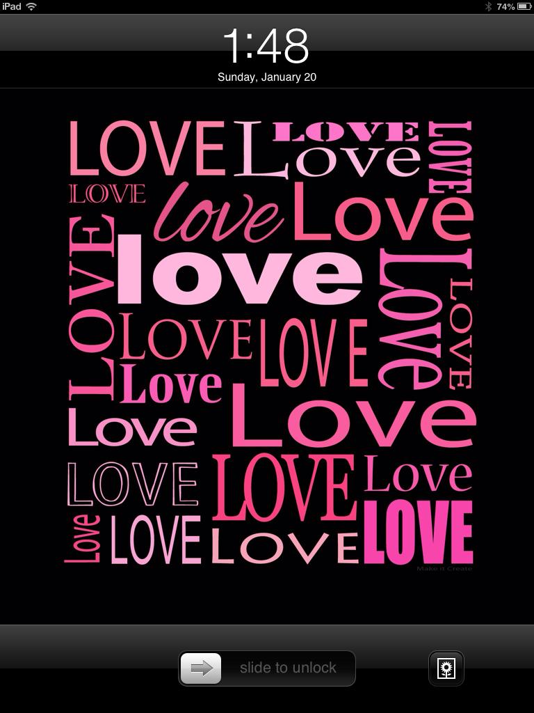 Create  Printables BackgroundsWallpapers Valentine Lock Screens 768x1024