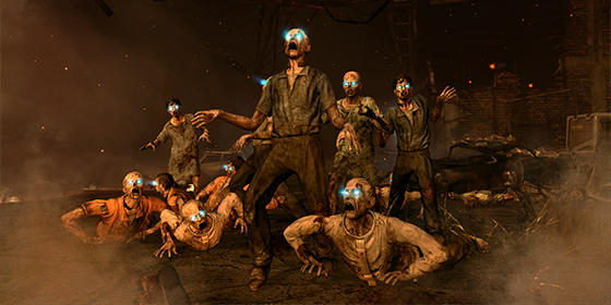 Black Ops 2 Zombies Logo WallpaperCOD Wallpapers 560x280