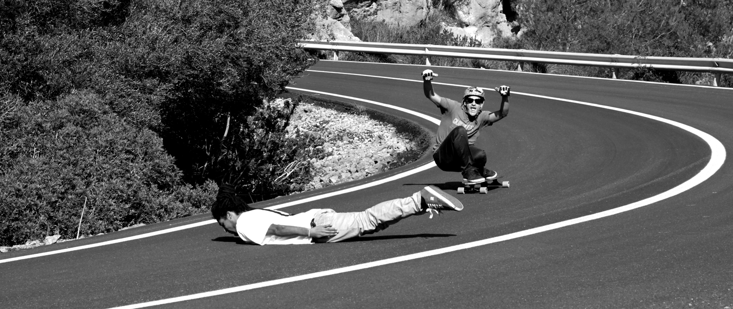 Longboard Downhill Wallpaper Destino downhill amigos 1475x623