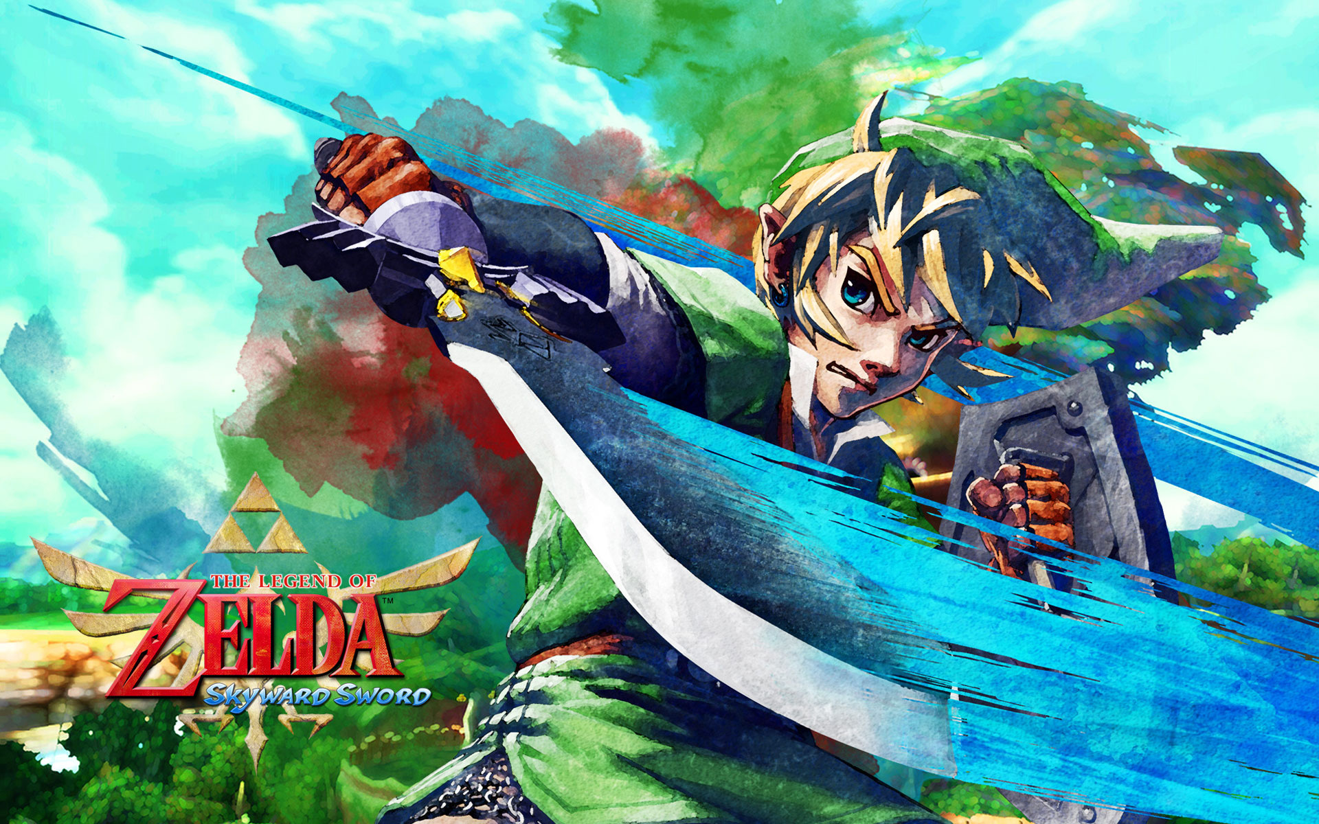 Zelda Skyward Sword Wallpapers in HD Page 3 1920x1200