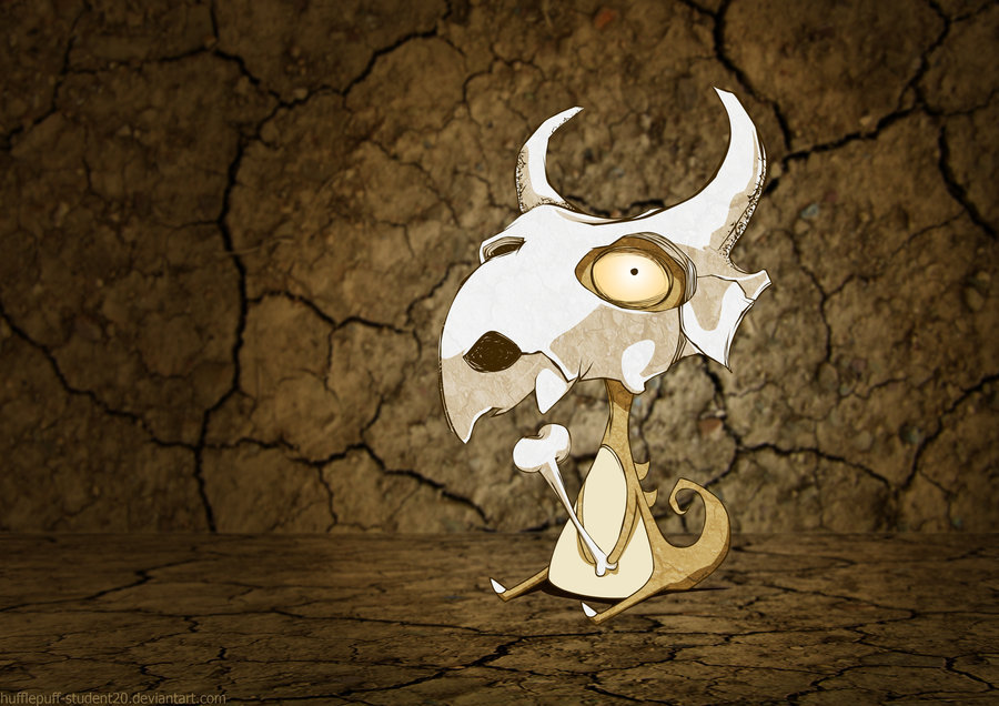 Cubone Wallpaper by greggileano 900x636