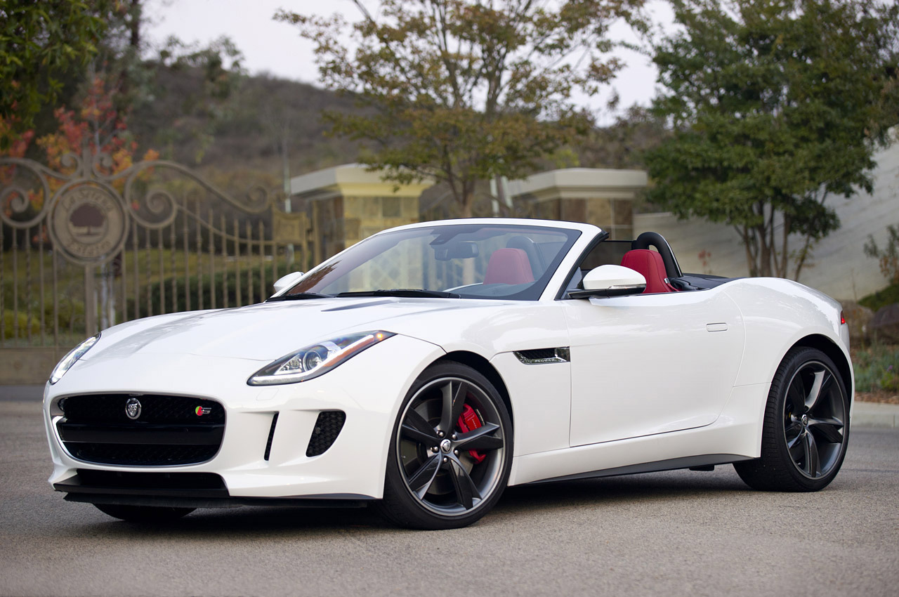 2014 Jaguar F Type Wallpaper Photos Wallpaper WallpaperLepi 1280x850