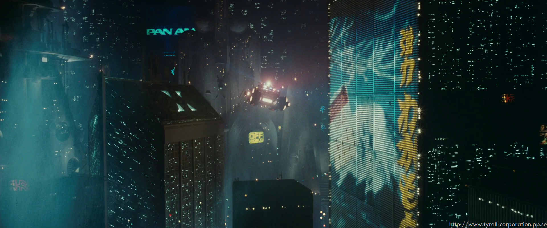 are viewing blade runner hd wallpaper color palette tags blade runner 1920x800