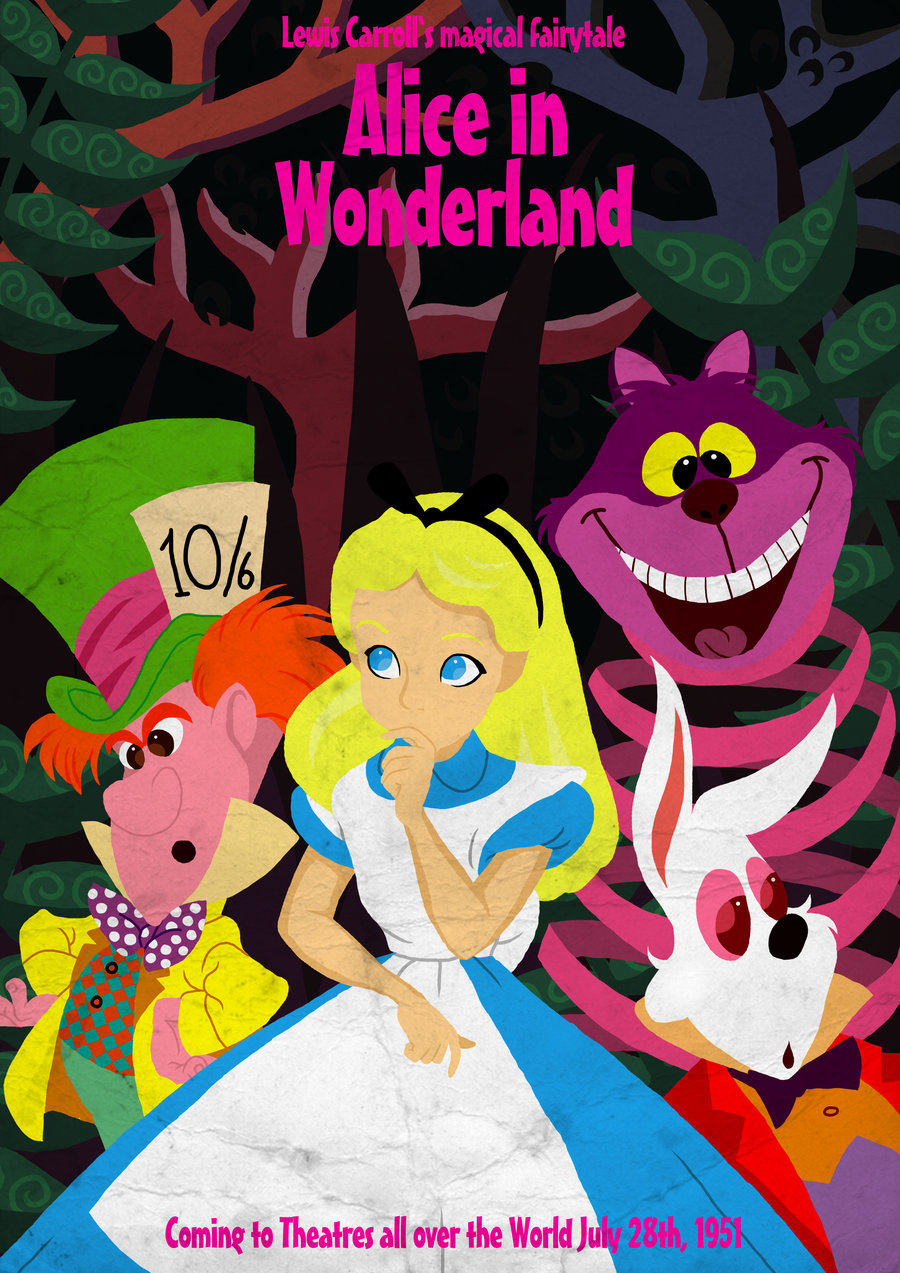 Free Download Cartoon Alice In Wonderland Ii By The Happy Thought