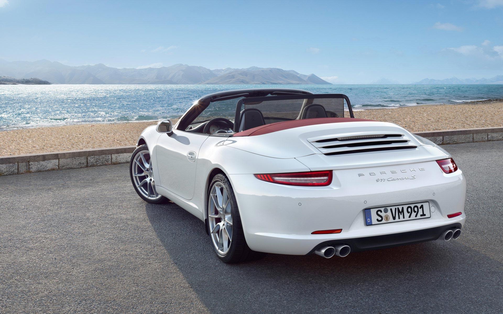 Porsche 911 Carrera Convertib HD Wallpaper Background Images 1920x1200