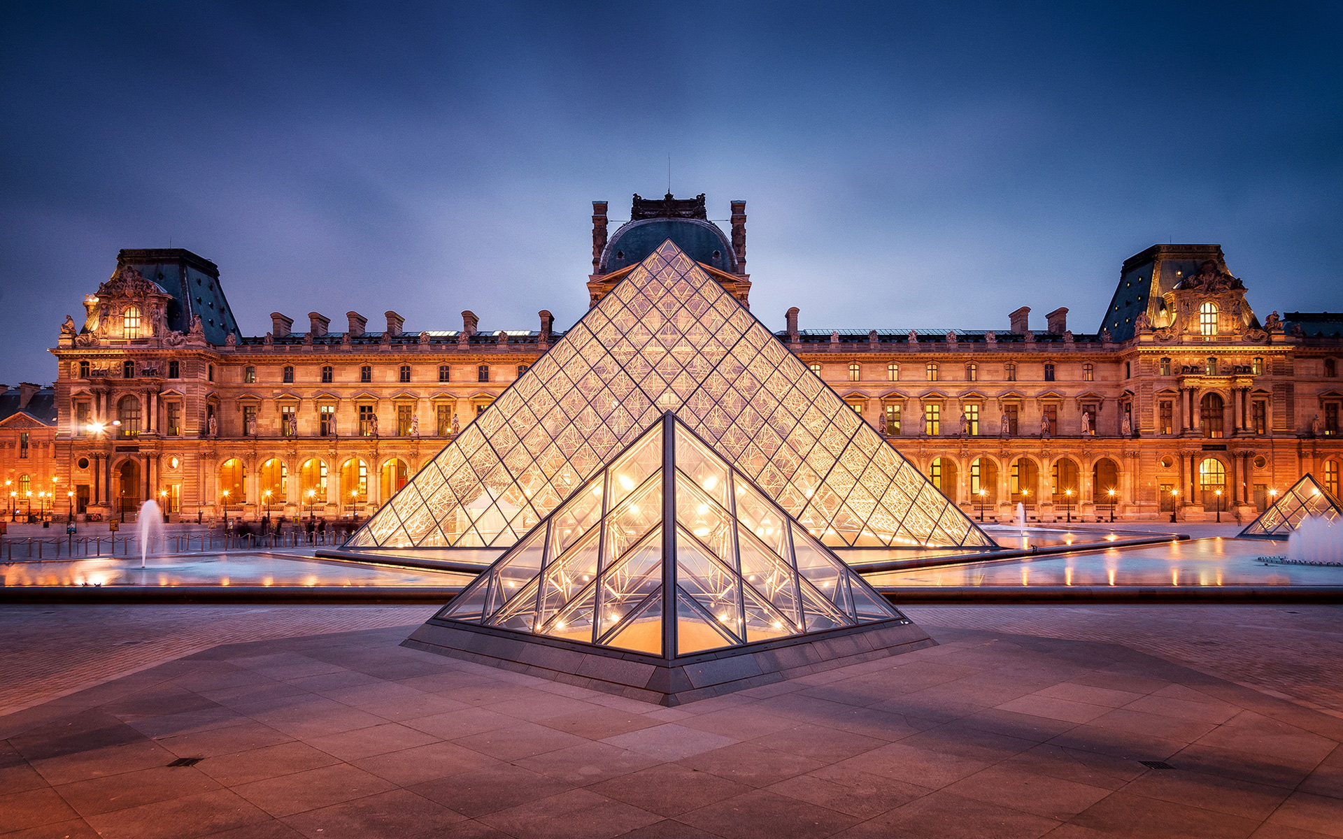 The Inspiration Fascination of The Louvre Found The World 1920x1200
