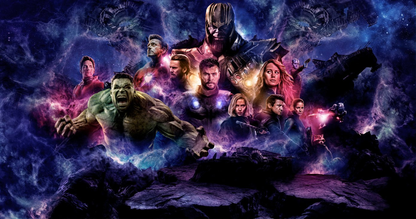 Best Avengers Endgame Avengers 4 Wallpapers for Desktop and Mobile 1392x733