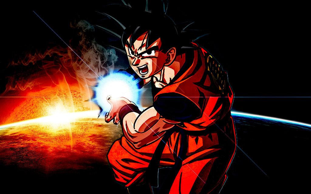 Son Goku Kamehameha Wallpaper Dbz Son Goku Wallpaper hd by 1024x640