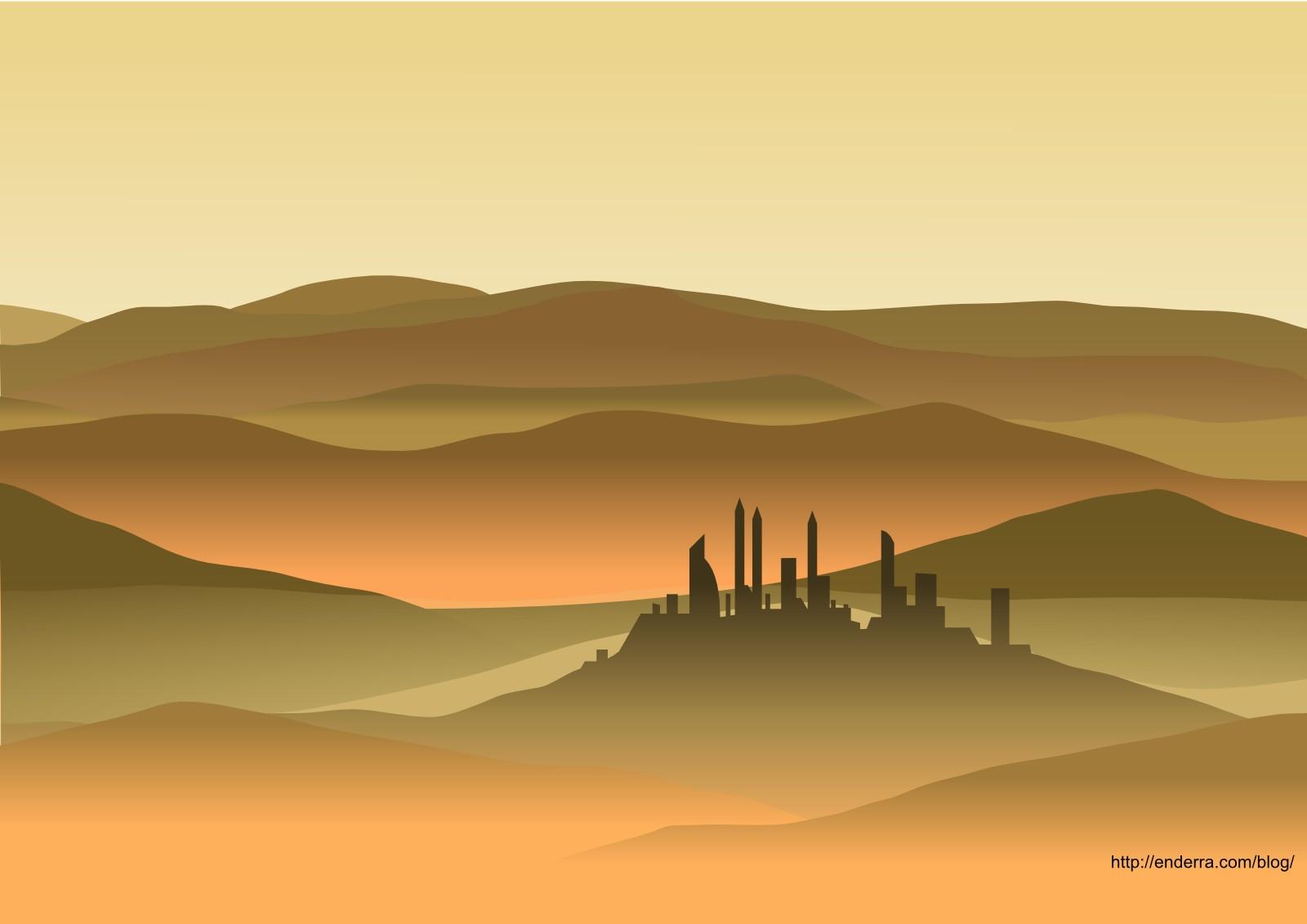 desert landscape wallpaper - photo #8
