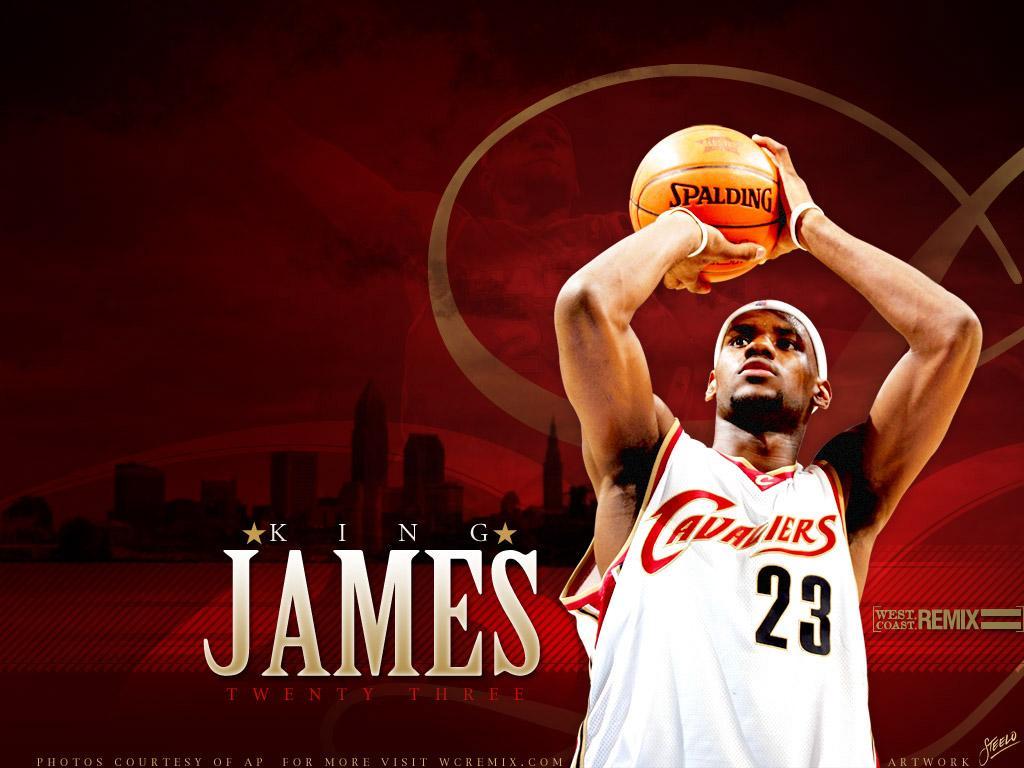 Wallpapers Lebron James NBA TSEBA 1024x768