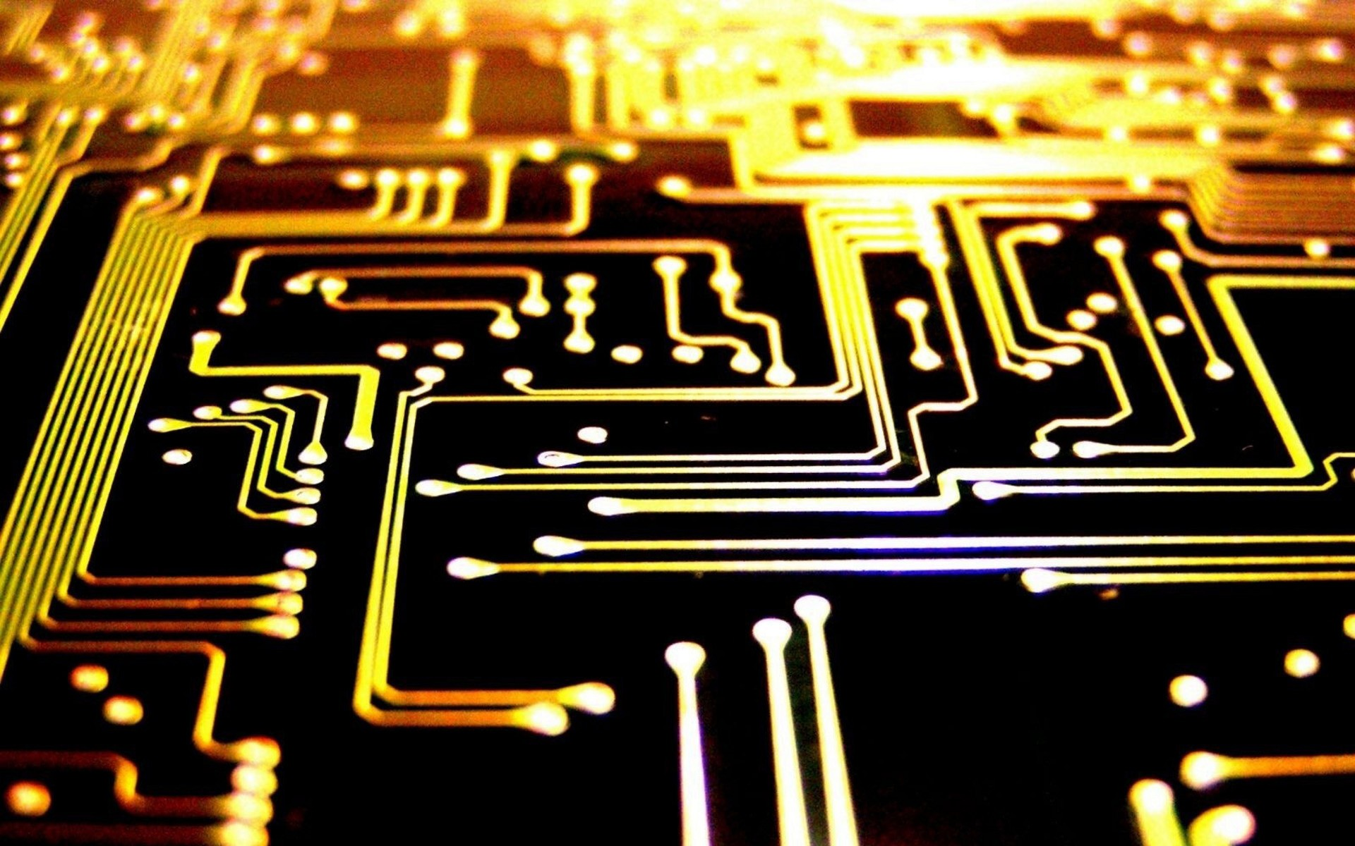 Circuits Wallpaper Wallpapersafari Electronic Integrated Circuit Chip As An Abstract Background Pattern Pcb Wa 1920x1200