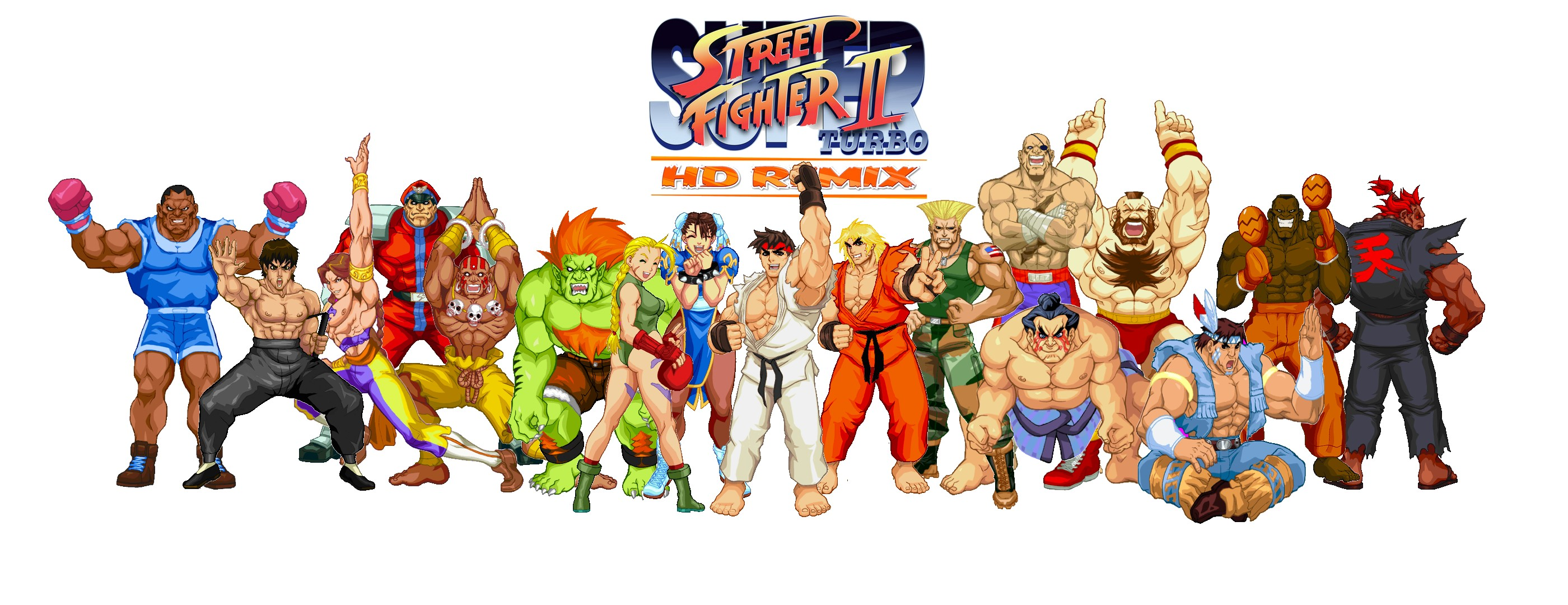 Free download Super Street Fighter 2 turbo hd remix by