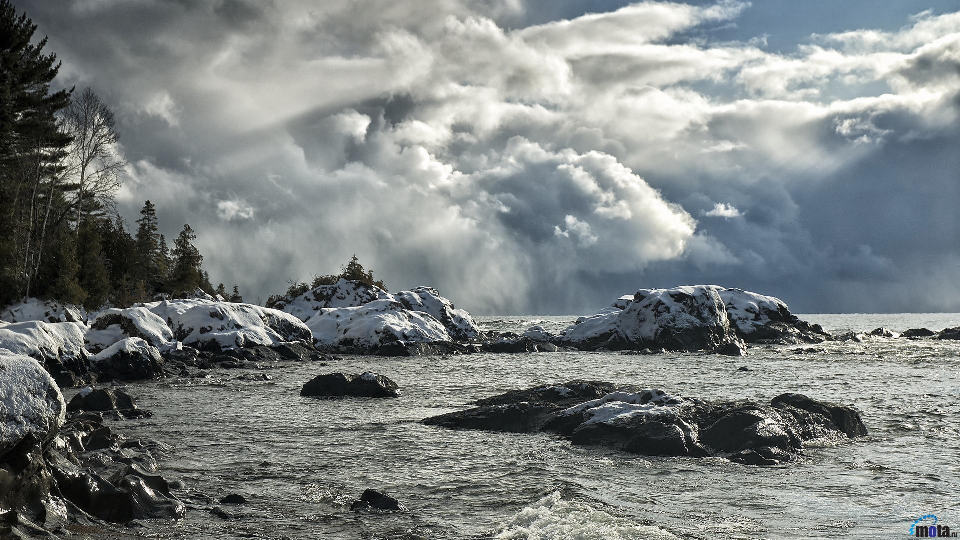 Winter Storm Desktop Wallpaper Wallpapersafari