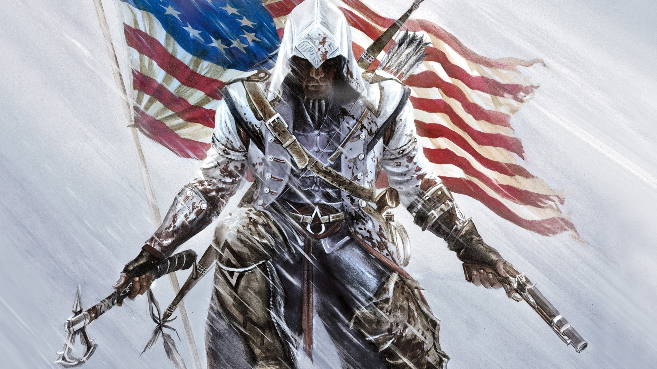 Assassins Creed 3 wallpaper 2 WallpapersBQ 2560x1440