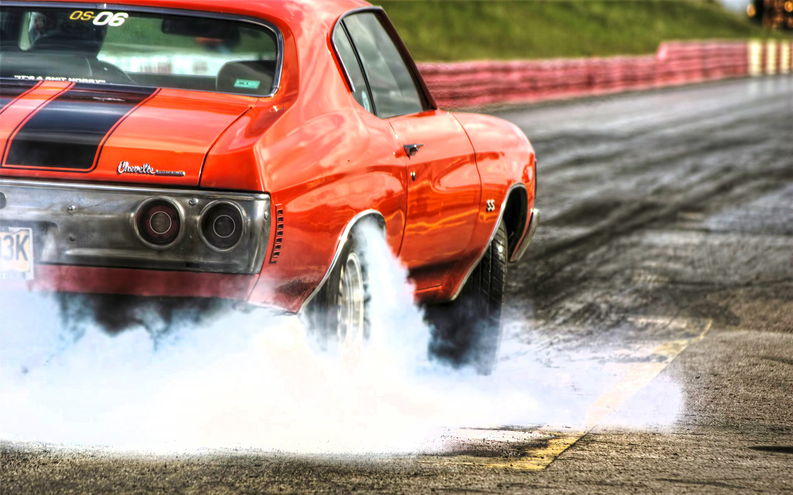 1600x1000px Muscle Car Burnout Wallpaper Wallpapersafari